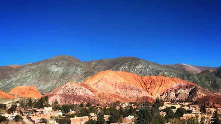 seven colored mountain, colors of freedom