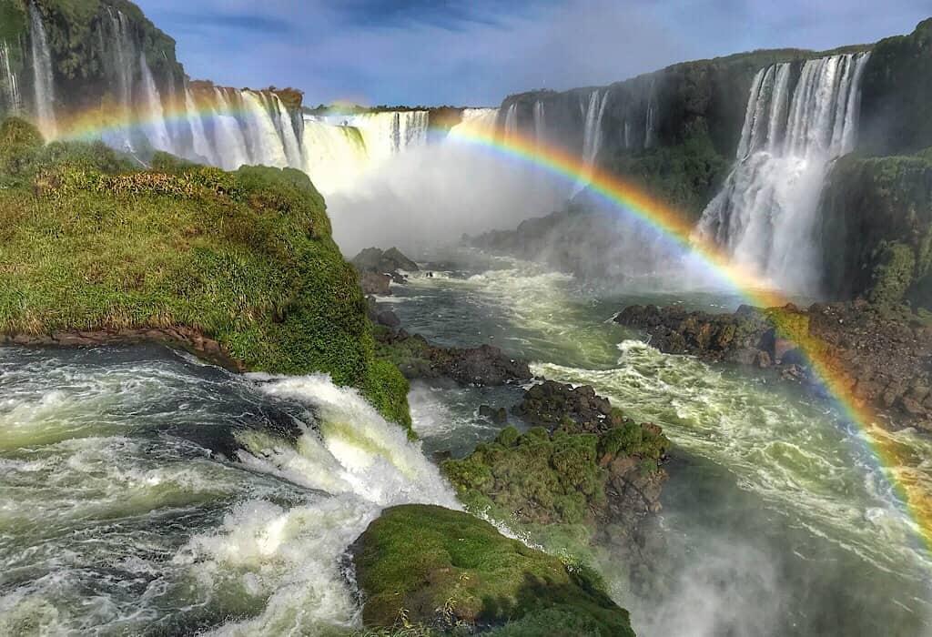 Iguazu Falls as seen from the Brazil side, Iguazu falls Argentina