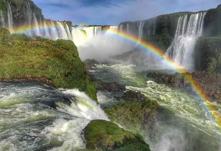 Iguazu Falls as seen from the Brazil side, Iguazu falls Argentina, places to visit in Brazil
