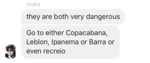 conversations about a rio de janeiro favela