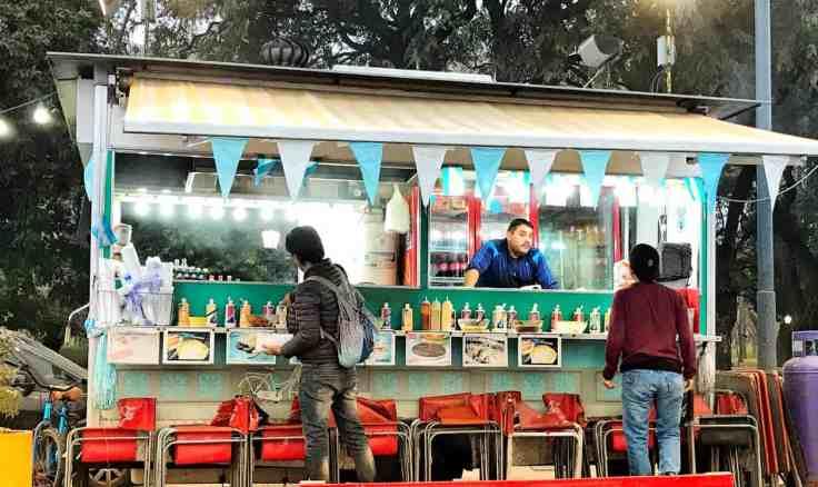 Vendor in Buenos Aires