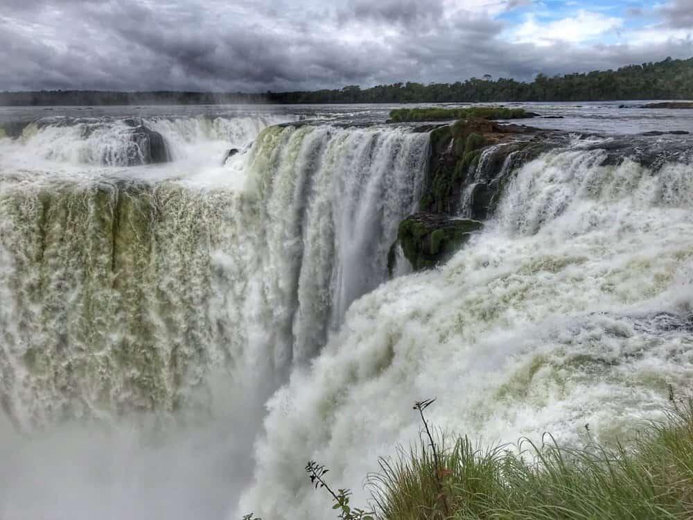 Iguazu falls Argentina, the throat of the devil