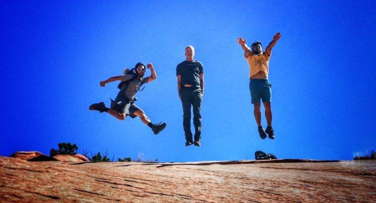 Jumping in Utah
