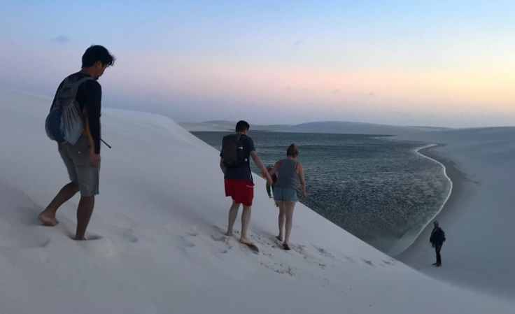 Lençóis Maranhenses National Park trek from the most beautiful place in the world