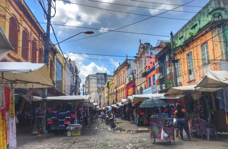 Market in Belem, safety travel tips
