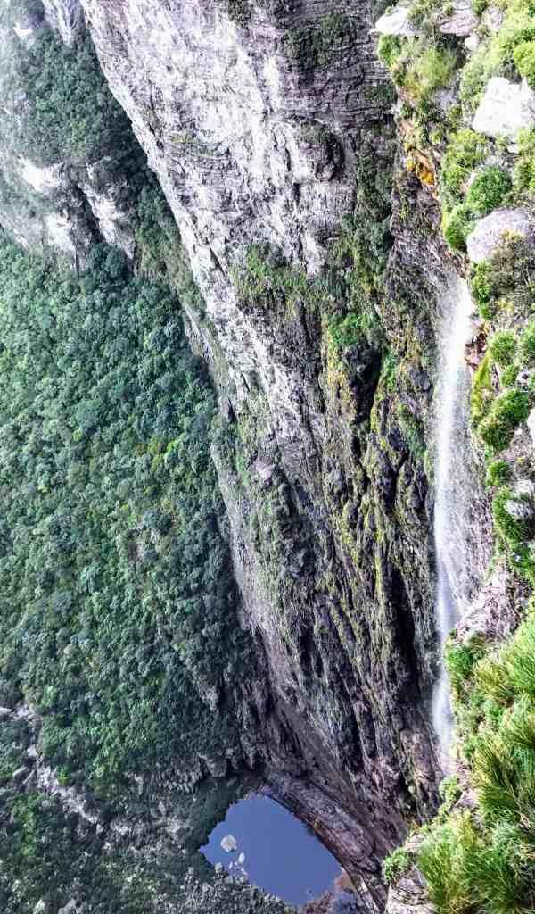 waterfall in the Chapada Diamantina park