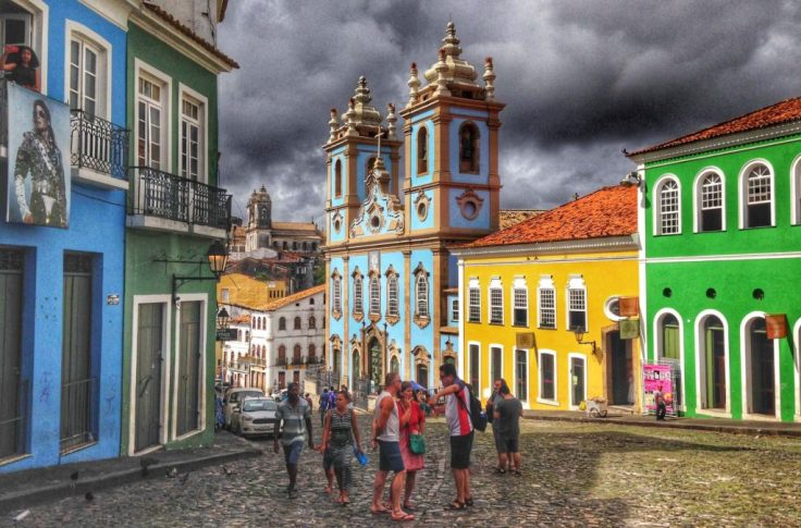 Beautiful San Pedro center, one of the places to visit in Brazil