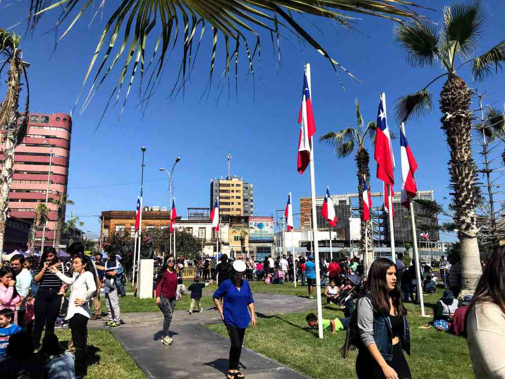 Holiday traditions in Chile on Navy Day