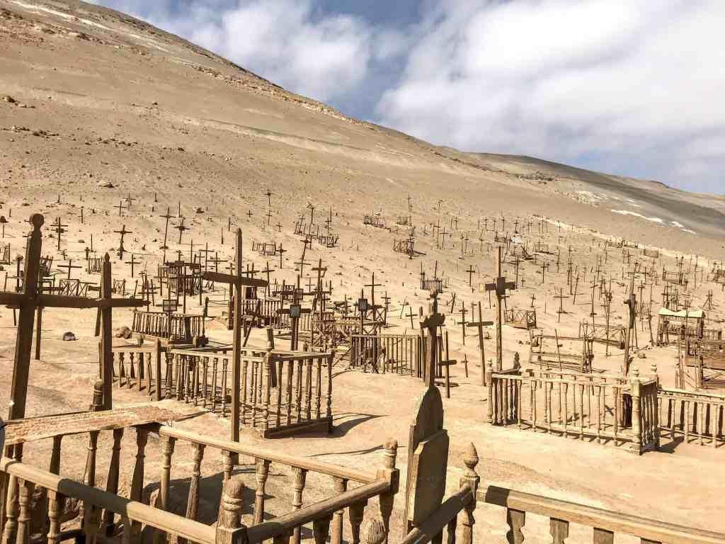 Graveyard at Pisagua