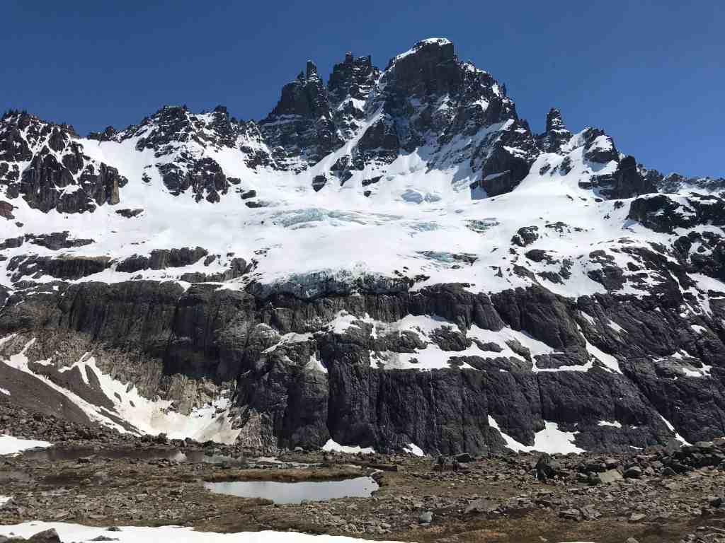 The spiral basalt peaks of Cerro Castillo