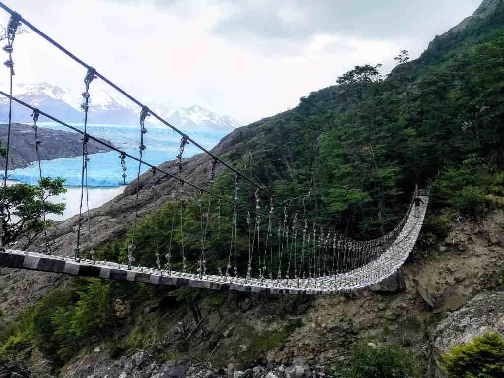 Hanging Bridge in Torres del Paine