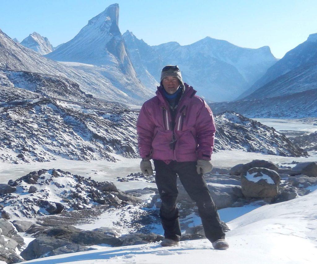 David Reid in the Arctic