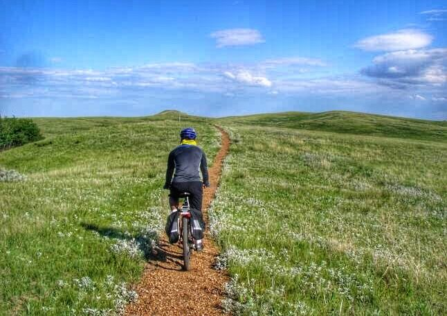 Riding the Maah Daah Hey Trail in North Dakota