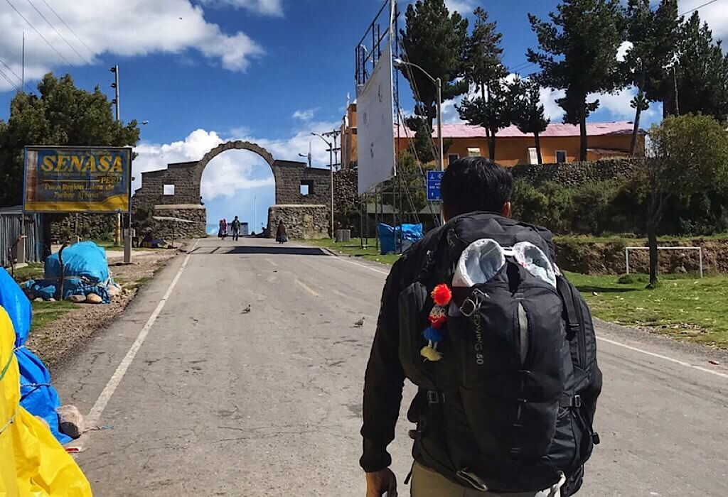 Walking to the Bolivia border, how to travel to Bolivia
