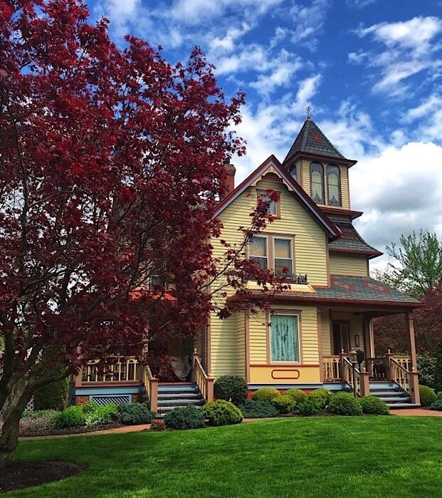A beautiful Victorian Style home in Wellsboro above the pine creek valley