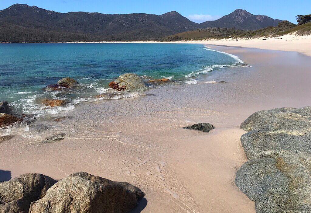Beach at Wineglass Bay