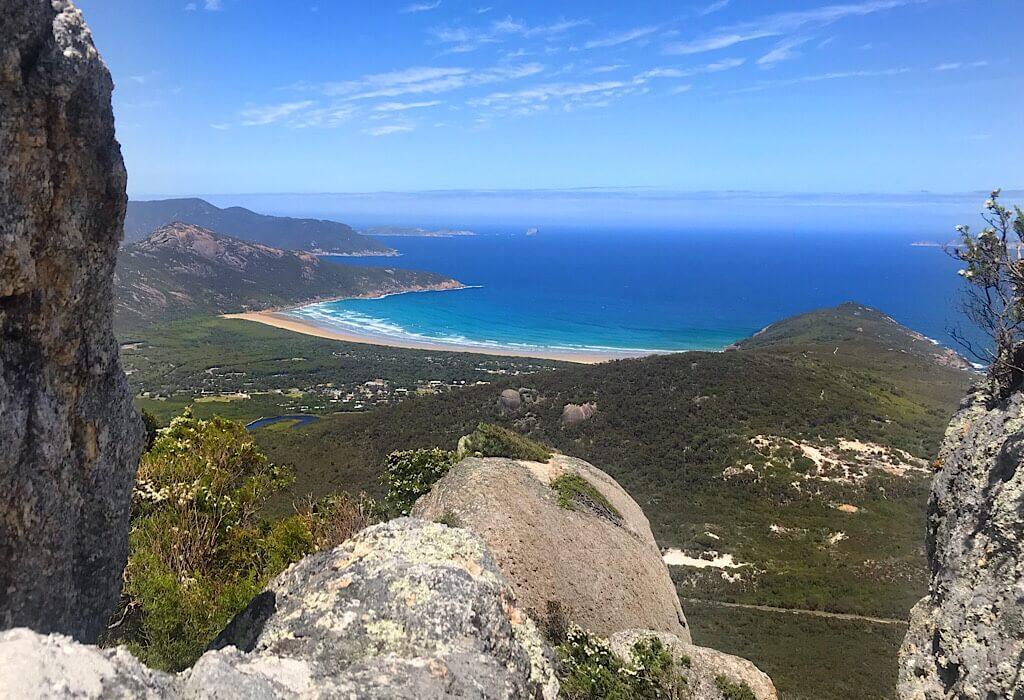 Mt Bishop on Wilson's Promontory, VIC, Australia