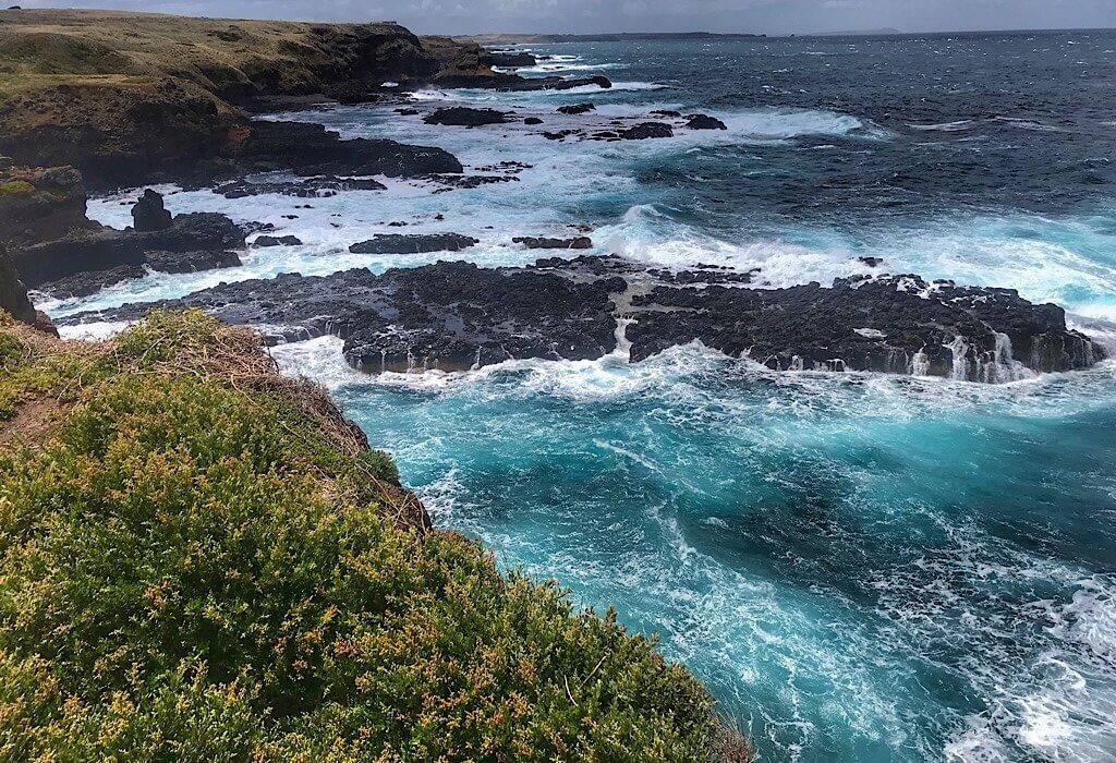 Philip Island Rocky Coast, VIC, Australia