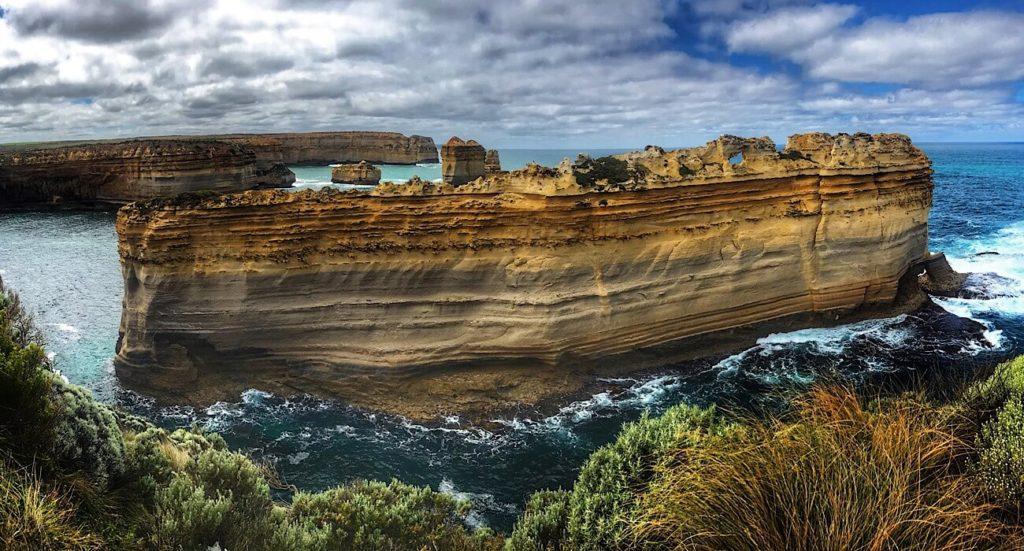 The Razorback viewpoint on the Great Ocean road, Victoria, Australia