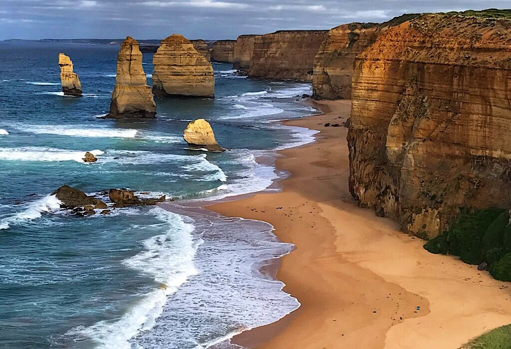 The Twelve Apostles on The Great Ocean Road, Victoria, Australia