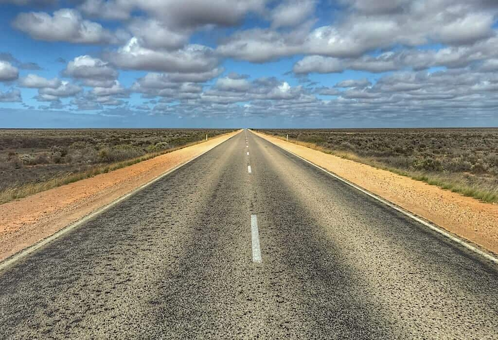 A view from the Nullarbor road