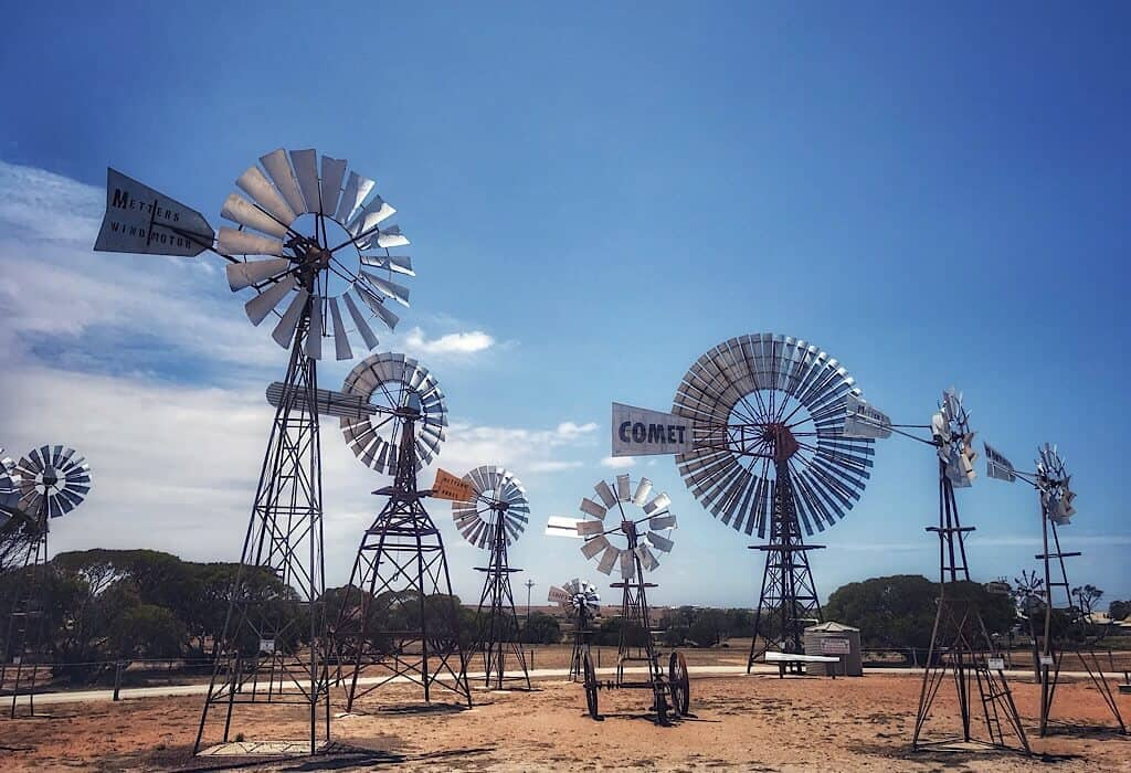 Windmills at Penong