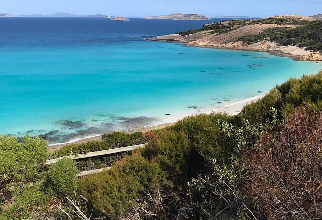 Blue Haven on the Great Ocean Drive near Esperance