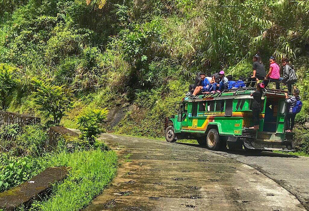 Jeepney in Batad Philippines