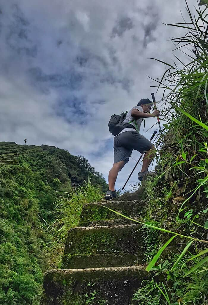 Stairs in Batad Philippines