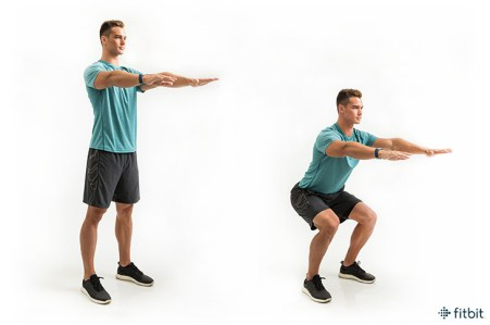 How to Do a Perfect Squat (Plus, 3 Next-Level Variations) - Fitbit Blog
