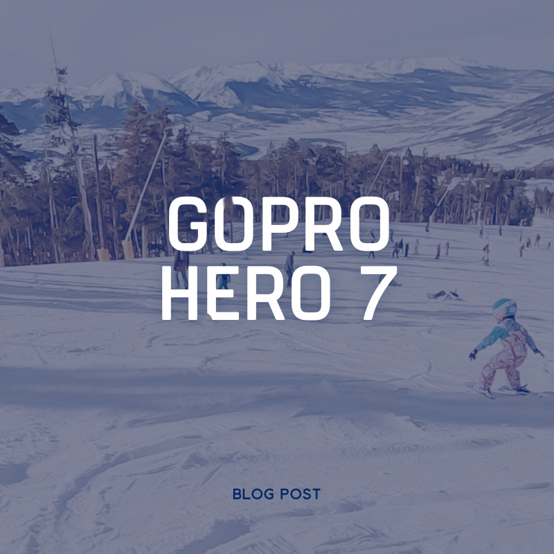The GoPro Hero 7