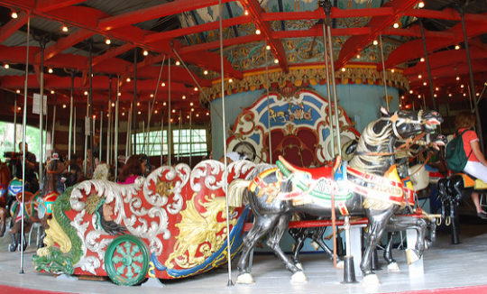Carousel Central Park by slgkgc Via Flickr Under CC 2.0 Licence