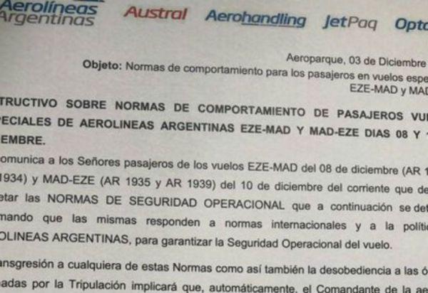 La insólita medida de Aerolíneas Argentinas con hinchas de River y Boca