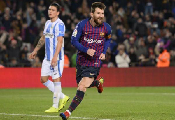 Messi selló el triunfo de Barcelona ante Leganés