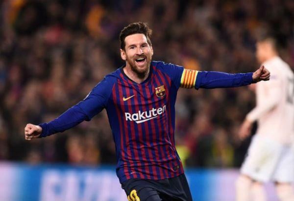 Barcelona goleó al Manchester United con un Messi brillante