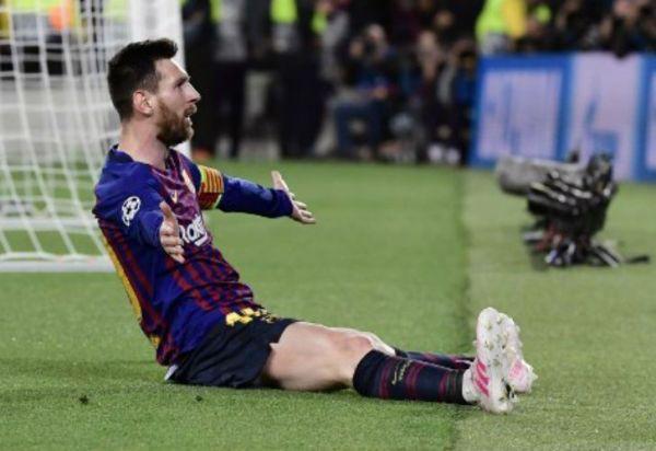Messi alcanzó su gol número 600 con la camiseta de Barcelona