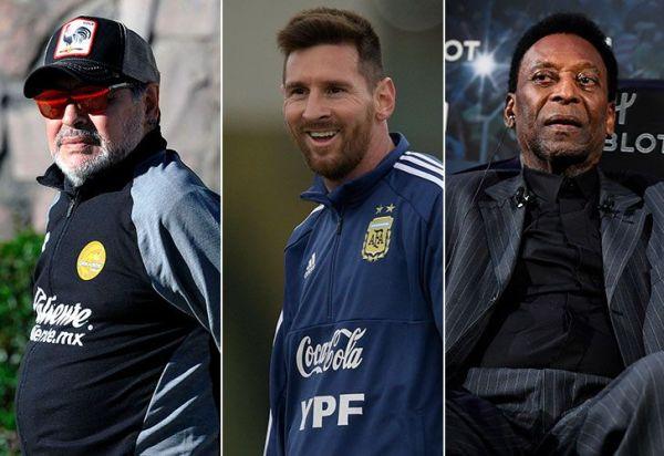 Messi va por el título que no tienen Pelé ni Maradona