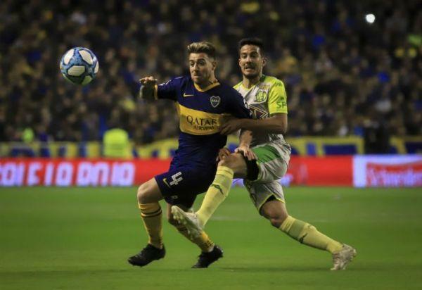 Boca rompió el cero y supera a Aldosivi en La Bombonera