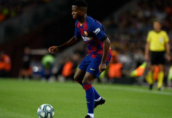 España nacionalizó a Ansu Fati, el sucesor de Messi en Barcelona