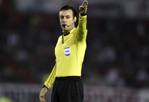 Conmebol designó al árbitro para el Superclásico de ida