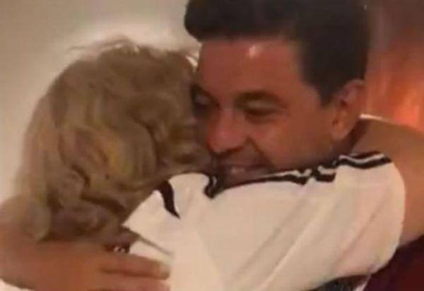 El gesto de Marcelo Gallardo con una abuela rosarina