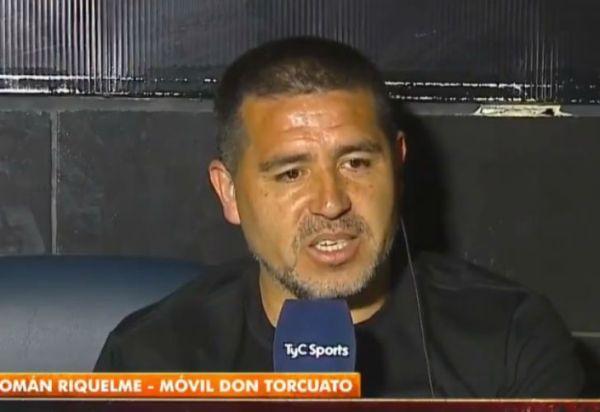 """Riquelme, sin pelos en la lengua: """"Tenemos que volver a ser un club de fútbol"""""""