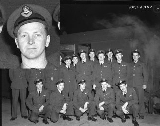 Squadron photo Jan 1944 M V Shenk