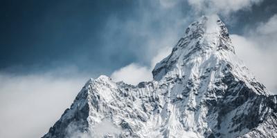 Everest base camp trekking route, khumjung, nepal