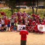 Cuadrangular de fútbol popular en Bogotá