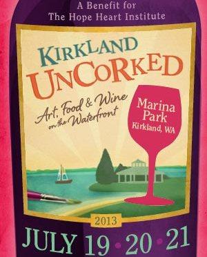 LUSHY AT KIRKLAND UNCORKED – SUNDAY JULY 21, 2:30PM-4PM