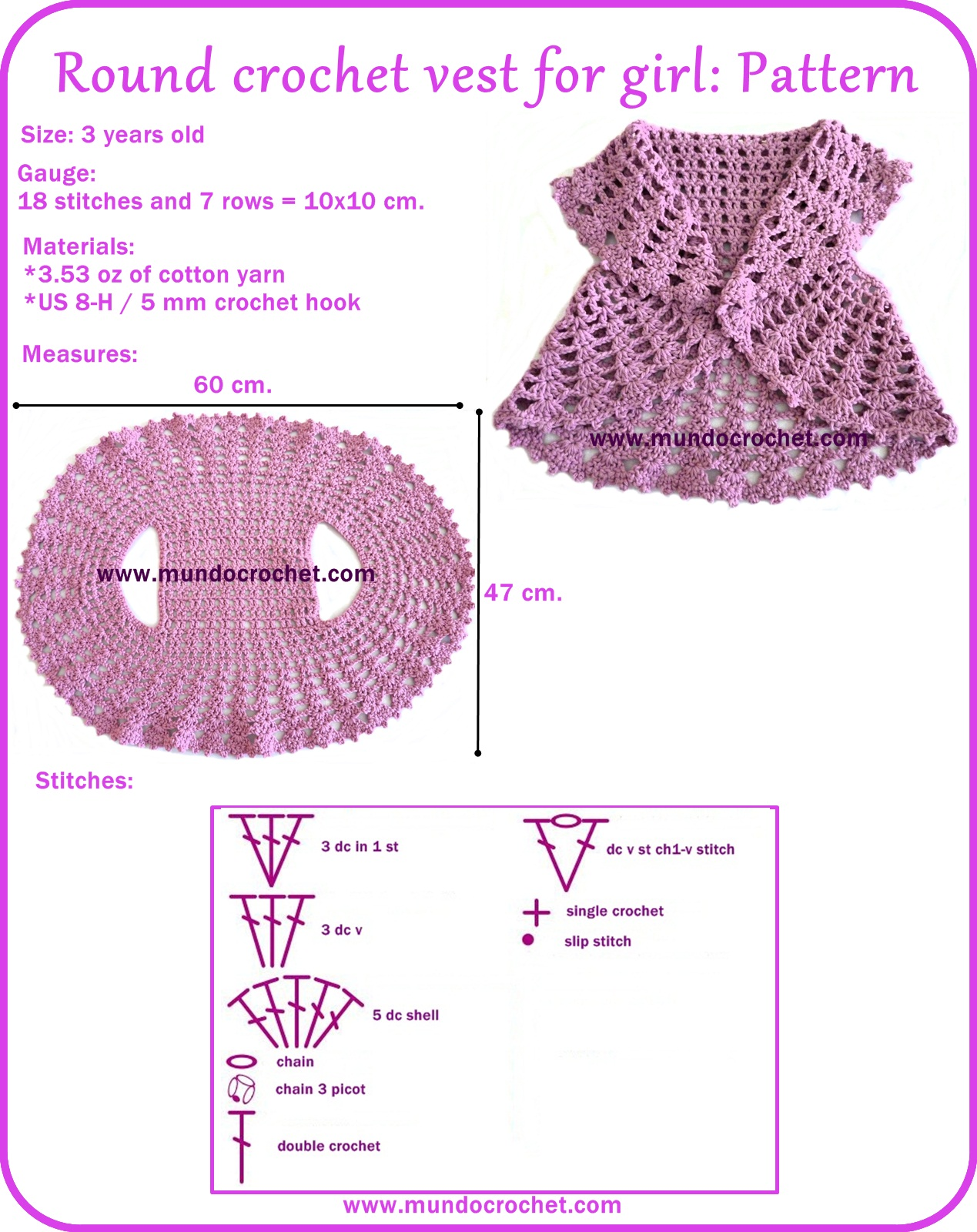 Patterns Archivos - Mundo Crochet