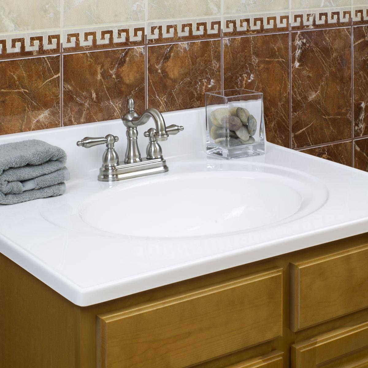 Cultured Marble Vanity Tops