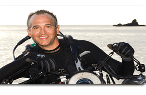 National Geographic underwater photograph and Ocean Matters board member Brian Skerry.