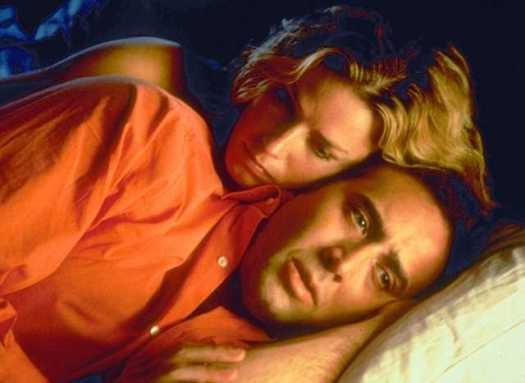 Elisabeth Shue and Nicolas Cage